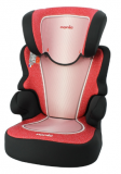 NANIA Autosedačka Befix SP (15-36 kg) Skyline Red