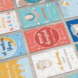 Milníkové kartičky (Feedo klub)