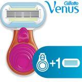 GILLETTE Maszynka do golenia dla kobiet Venus Embrace Snap razor – Pink