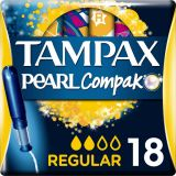 TAMPAX Tampony Compak Pearl Regular 18 szt.