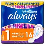 ALWAYS Platinum Ultra Normal Plus Vložky hygienické 16 ks