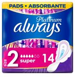 ALWAYS Platinum Ultra Super Plus Vložky hygienické 14 ks