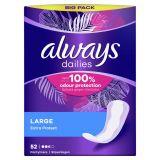 ALWAYS Dailies Large Extra Protect Intímky 52 ks
