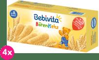 4x BEBIVITA Medvědí sušenky 180 g