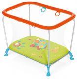 BREVI Ohrádka Soft & Play s 3D Podložkou – Zelená Farma