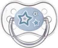 CANPOL BABIES Dudlík silikonový symetrický 6-18m Newborn Baby modrá