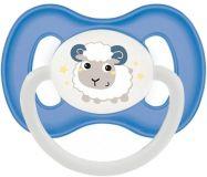 CANPOL BABIES Cumlík kaučukový čerešnička 0-6m Bunny & Company modrý
