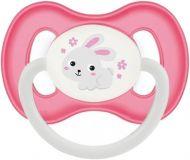 CANPOL BABIES Cumlík kaučukový čerešnička 6-18m Bunny & Company ružový