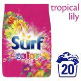 SURF Color Tropical 1,4 kg (20 dávek) – prací prášek