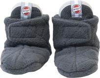 LODGER Dětské capáčky Fleece Scandinavian Coal 6-12 měsíců