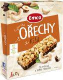 EMCO Tyčinka Orechy a kešu 3x35 g