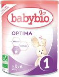 BABYBIO Optima 1 (400 g) – mleko niemowlęce