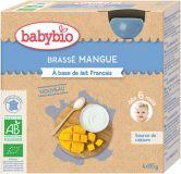 BABYBIO Mliečny dezert s mangom 4x85 g