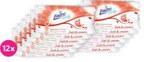 12x LINTEO Baby vlhčené ubrousky Soft & Cream 72 ks