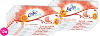 12x LINTEO Baby vlhčené ubrousky Soft & Cream 120 ks
