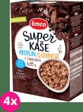 4x EMCO Super kaše Protein & quinoa s čokoládou 3x55 g