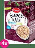 4x EMCO Super kaše Protein & chia s višněmi 3x55 g