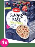 4x EMCO Super kaše Chia semínka & lesní směs 3x55 g