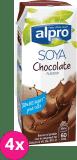 4x ALPRO Sójový nápoj Čokoládový 250 ml