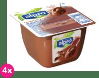 4x ALPRO Sójový dezert čokoládový 125 g