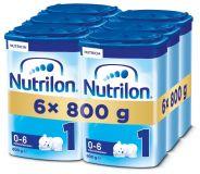 6x NUTRILON 1 (800g) - dojčenské mlieko