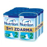 6 x NUTRILON 2 Pokračovací kojenecké mléko 800 g, 6+