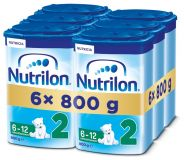 6x NUTRILON 2 (800g) - kojenecké mléko