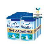 5+1 NUTRILON 2 (800g) - dojčenské mlieko