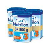 3x NUTRILON 3 (800g) - dojčenské mlieko