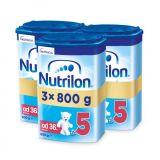 3 x NUTRILON 5 Dětské mléko 800 g, 36+