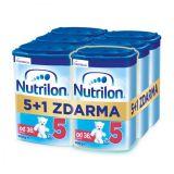 6 x NUTRILON 5 Dětské mléko 800 g, 36+
