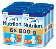 6x NUTRILON 5 (800g) - dojčenské mlieko