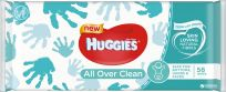 HUGGIES® Single All Over Clean 56 ks - vlhčené ubrousky