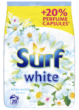 SURF White Orchid (20 dávek) – prací prášek