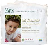 NATY NATURE BABYCARE Detské vlhčené obrúsky 3x56 ks