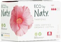 NATY NATURE Tampóny Super 18 ks