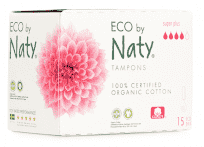 NATY NATURE Tampony Super Plus 15 szt.