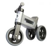 TEDDIES Rowerek Funny Wheels New Sport 2w1 nośność 50 kg, 18m+ – szary