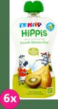 6x HiPP BIO HiPPiS Gruszki-Banany-Kiwi Mus owocowy po 6. miesiącu 100 g