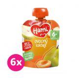 6x HAMI Ovocná kapsička Ovocný koktejl (90 g)