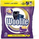 WOOLITE Black 28 ks – gelové kapsle na praní