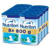 8x NUTRILON 2 (800g) - dojčenské mlieko