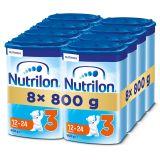 8x NUTRILON 3 (800g) - dojčenské mlieko