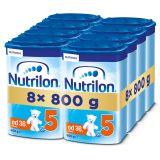 8x NUTRILON 5 (800g) - dojčenské mlieko
