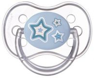 CANPOL BABIES Dudlík silikonový symetrický 18m+ silikon Newborn Baby – modrý