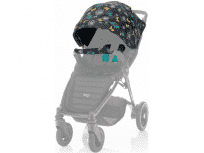 BRITAX Barevný set B-Agile 4 Plus/B-Motion 3/4 Plus Limited – Butterfly Flowers 2018