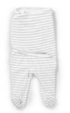 SUMMER INFANT SwaddleMe Otulacz Footsie Etap 2 S – Grey
