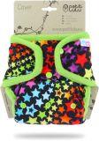 PETIT LULU Svrchní kalhotky (4-15 kg) patentky – Duhové hvězdy