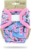 PETIT LULU Svrchní kalhotky novorozenecké (2-6 kg) suchý zip – Sakura