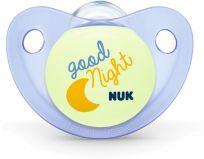 NUK Dudlík ortodontický Trendline (0-6m) silikon, Den & Noc – good night